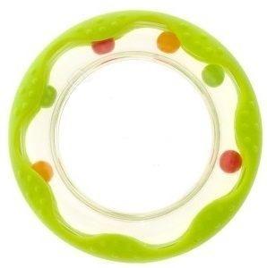 Chrastítko Akuku kolečko - zelené