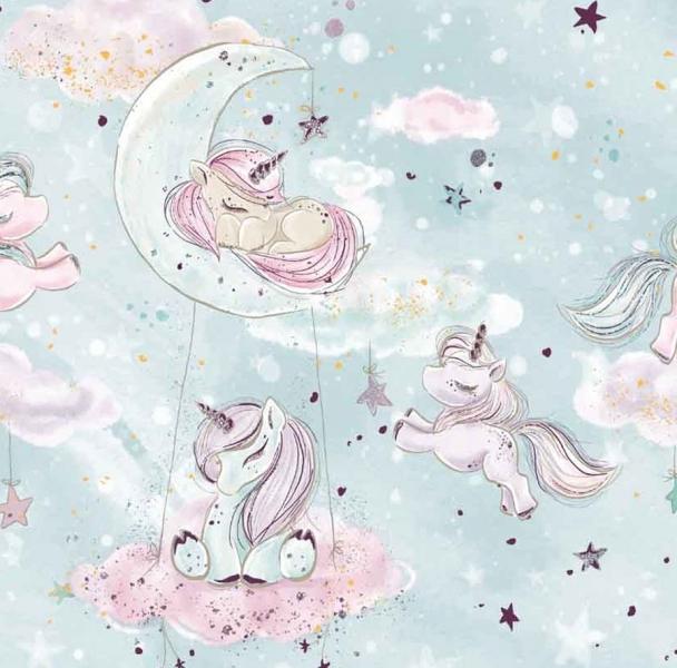 Sada komplet Baby Nellys, oboustranné hnízdečko, 60x90cm - Noční obloha, minky vínová