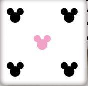 Sada komplet Baby Nellys, oboustranné hnízdečko, 60x90cm - Mickey, minky růžová