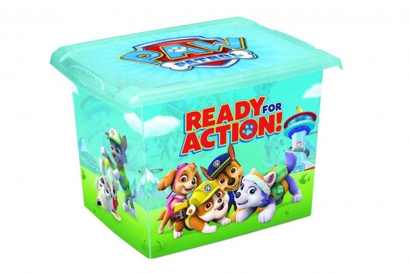Keeeper Box na hračky, dekorační Paw Patrol - 20,5 l