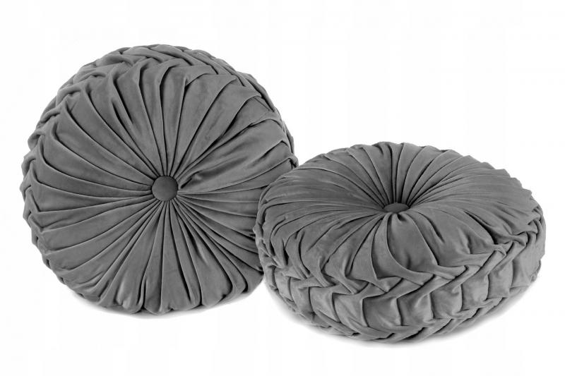 Tutumi Dekorační polštář Glamour - tm. šedá