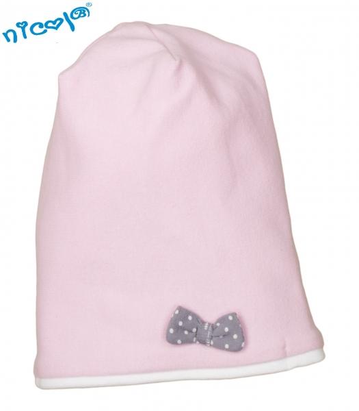 Dětská čepice Nicol, Paula - růžová