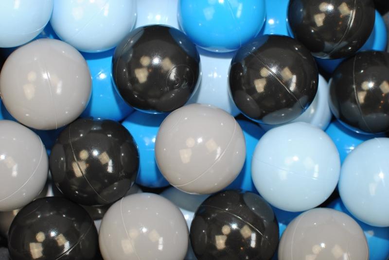 NELLYS Náhradní balónky do bazénu -200 ks, mix IV