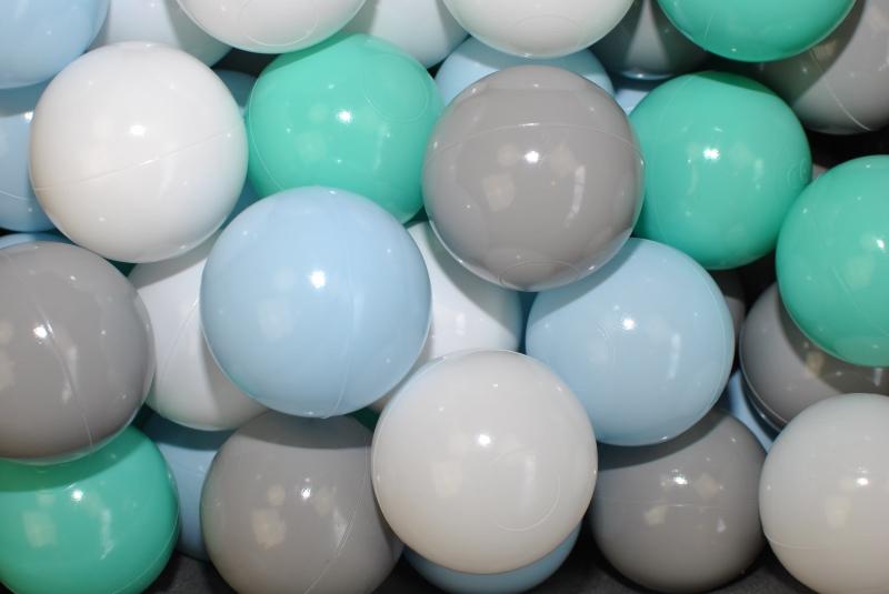 NELLYS Náhradní balónky do bazénu - 200 ks, mix V