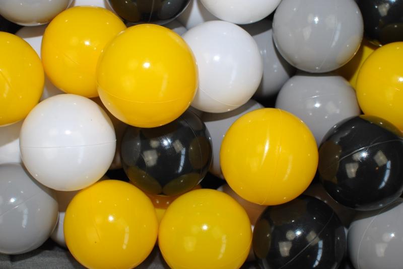 NELLYS Náhradní balónky do bazénu - 200 ks, mix VI