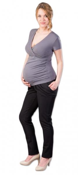 Těhotenské kalhoty Gregx,  Kofri - černé, vel. XXXL