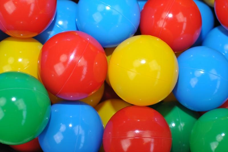 NELLYS Náhradní balónky do bazénu - 200 ks, mix VII