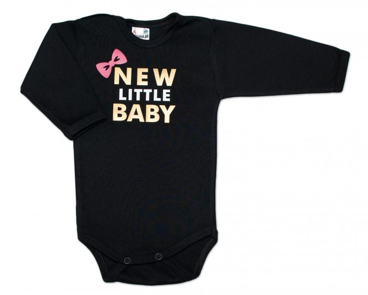 Body dlouhý rukáv Dejna New little Baby - Girl, Velikost: 62 (2-3m)
