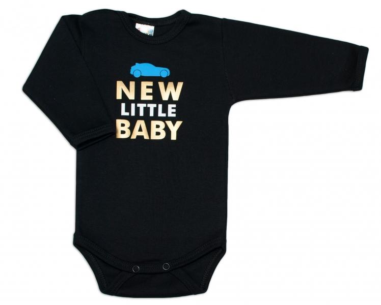 Body dlouhý rukáv Dejna New little Baby - Boy, Velikost: 62 (2-3m)