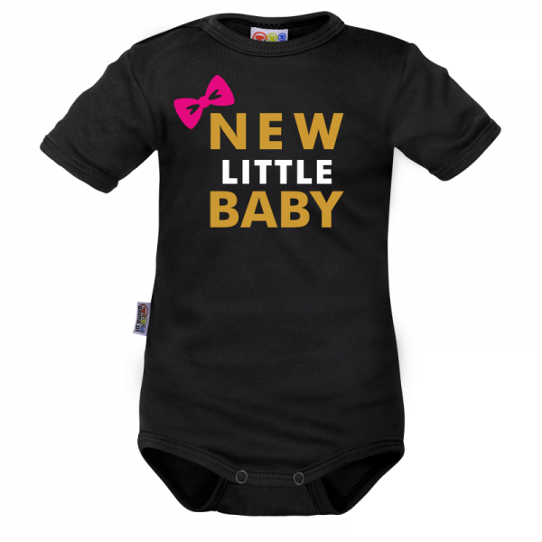 Body krátký rukáv Dejna New little Baby - Girl, Velikost: 62 (2-3m)