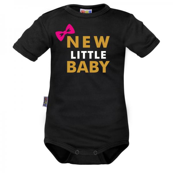 Body krátký rukáv Dejna New little Baby - Girl, vel. 74, Velikost: 74 (6-9m)