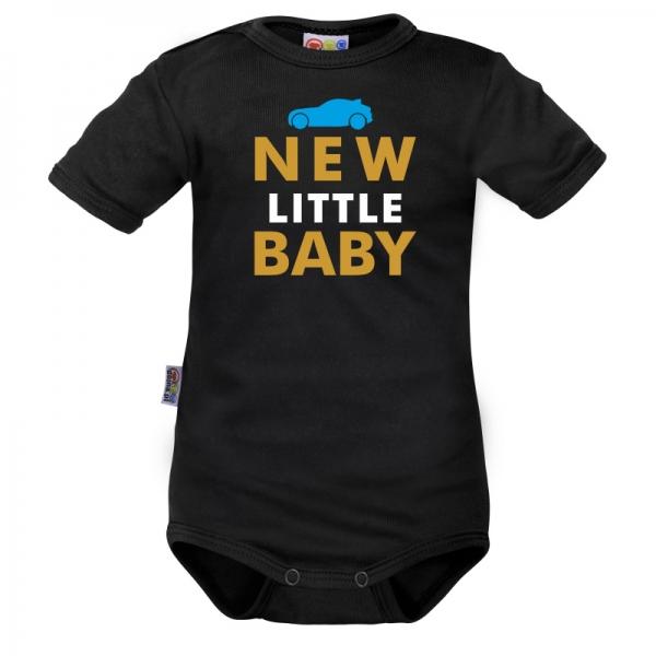 Body krátký rukáv Dejna New little Baby - Boy, vel. 80, Velikost: 80 (9-12m)