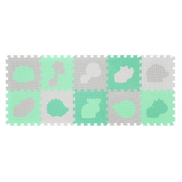 BabyOno Pěnové puzzle - Zviřátka - 10 ks 396/01