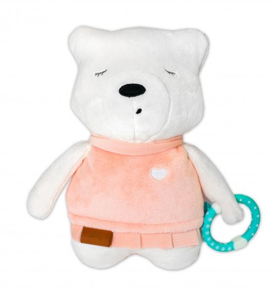 Szumisie Šumící mazlíček Medvídek Suzy 25 cm - růžový/béžová