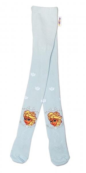Bavlněné punčocháče Disney Frozen - sv. modrá, vel. 92/98vel. 92 (18-24m)