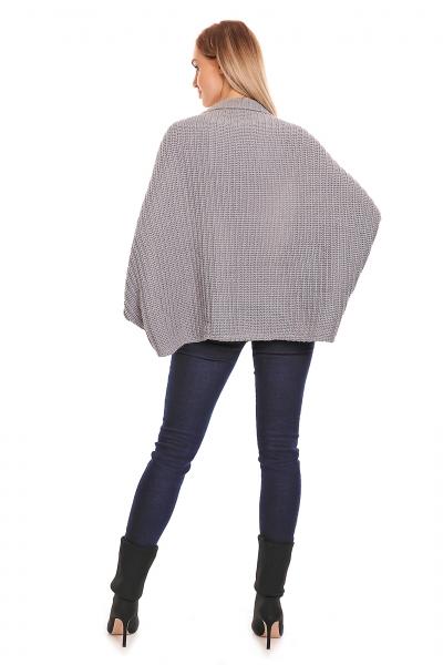 Be MaaMaa Volný těhotenský kardigan - šedý