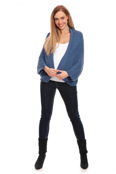 Be MaaMaa Volný těhotenský kardigan - jeans