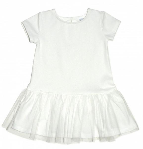 Dívčí šaty K-Baby - smetanové, vel. 92