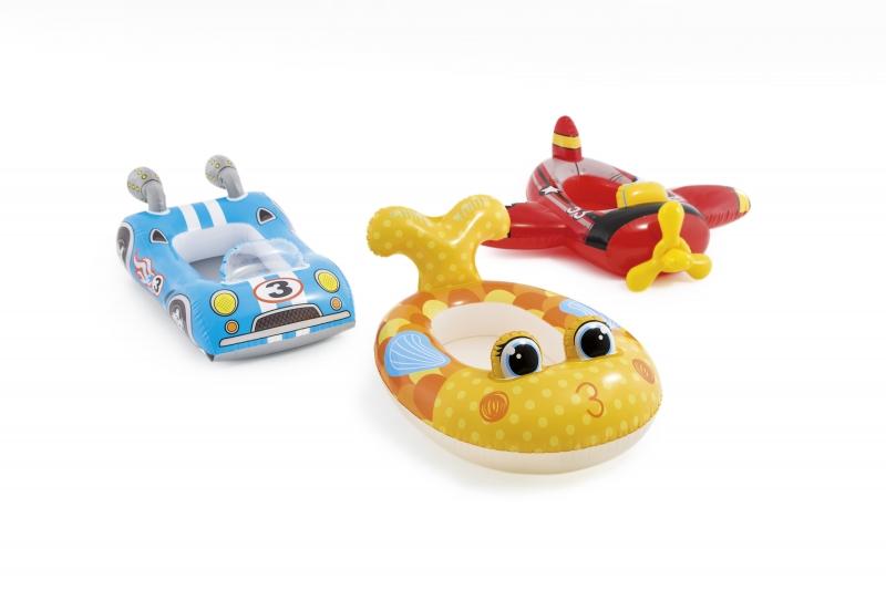 Nafukovací člun dětský veselý vzor 3 druhy