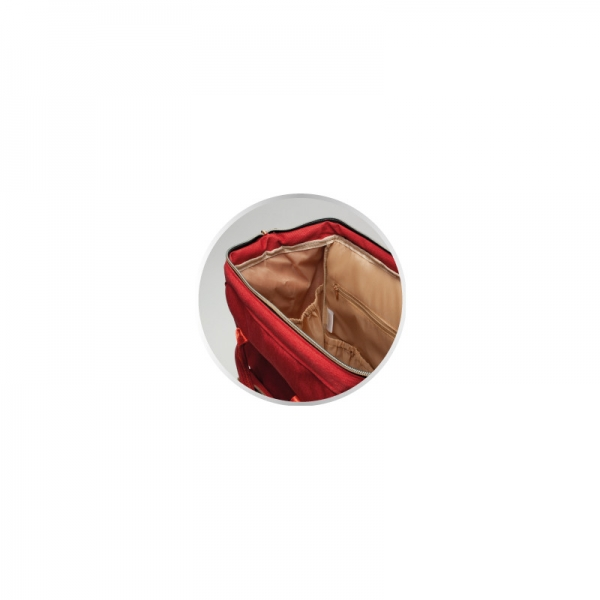 Canpol babies Přebalovací batoh ke kočárku - červený
