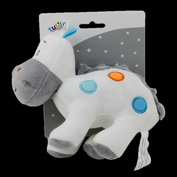 DOPORUČUJEME Plyšová hračka Tulilo Dino, 20 cm - bílý