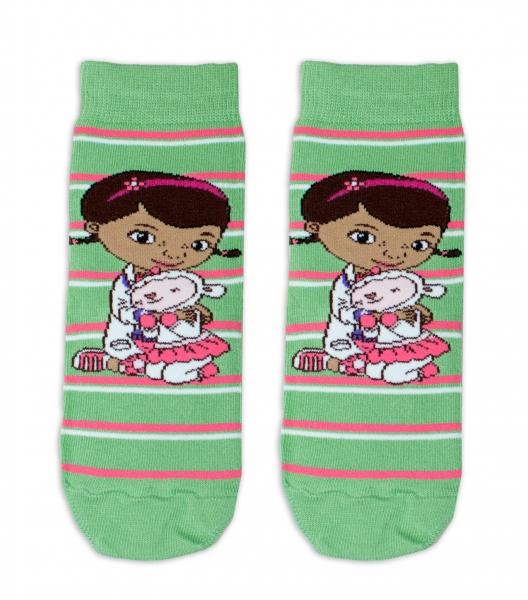 Bavlněné ponožky Disney Doc McStuffins  - zelené