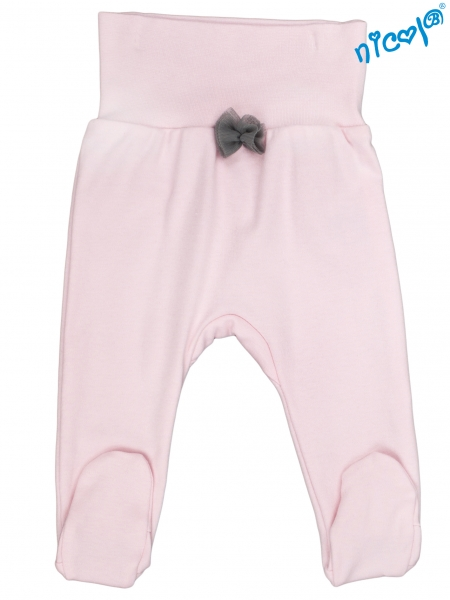 Kojenecké polodupačky Nicol, Baletka - růžové, vel. 86
