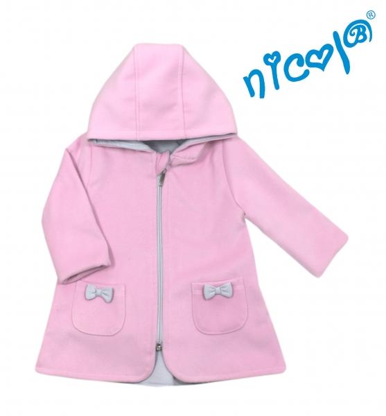 Dětský kabátek/bundička Nicol, Baletka - růžová, vel. 74vel. 74 (6-9m)