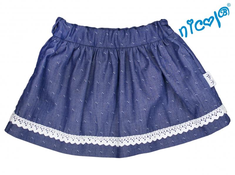 Kojenecká sukně Nicol, Baletka - granátová, vel. 62vel. 62 (2-3m)
