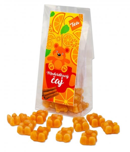 Medvídkový čaj pomeranč, skořice, 50g