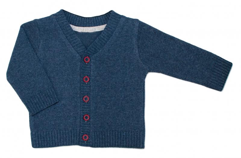 Chlapecký svetřík K-Baby - granát, vel. 92