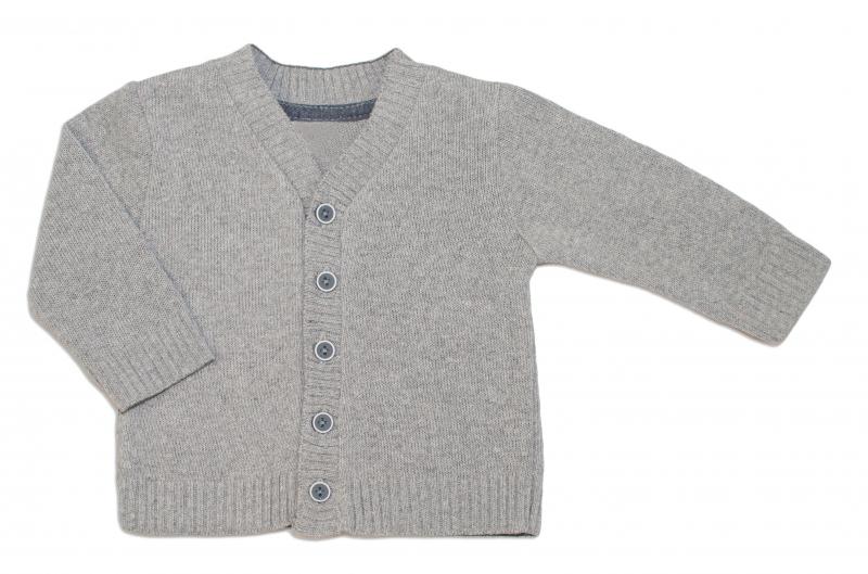 Kojenecký svetřík K-Baby - sv. šedý, vel. 86vel. 86 (12-18m)