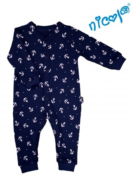 Dětský overal Nicol, Sailor  - tm. modrý, vel. 98