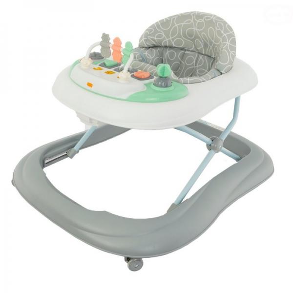 Euro Baby Multifunkční chodítko  - šedo/bílé