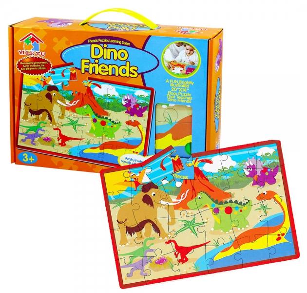 Rappa Puzzle pěnové 28 dílků dinosauři