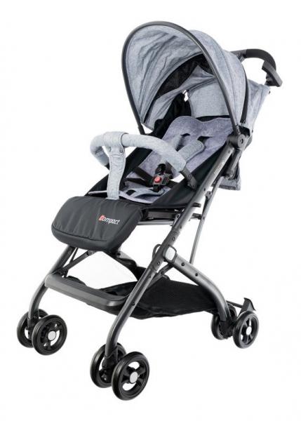 Euro Baby Dětský kočárek Compact - šedý, Ce19