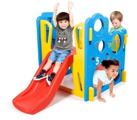 Dětské hřiště s košíkovou, skluzavkou a prolézačkou -  Grow'n Up