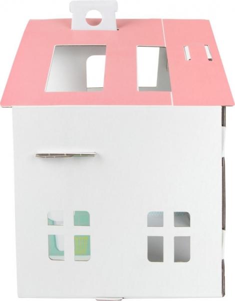 Dětský kartonový domeček Tektorado pro panenky