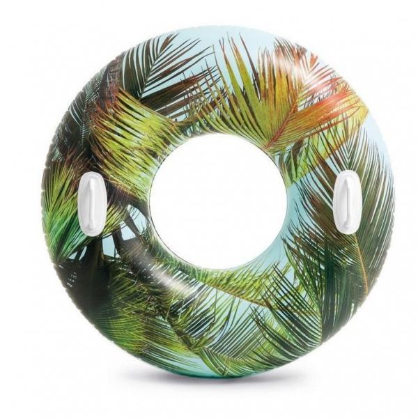Nafukovací kruh Hawaii s úchyty 97 cm