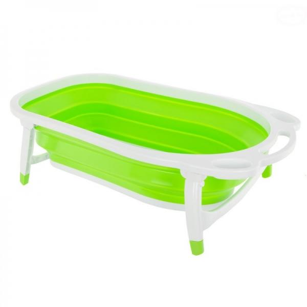 Euro Baby Skládací dětská vanička - zelená