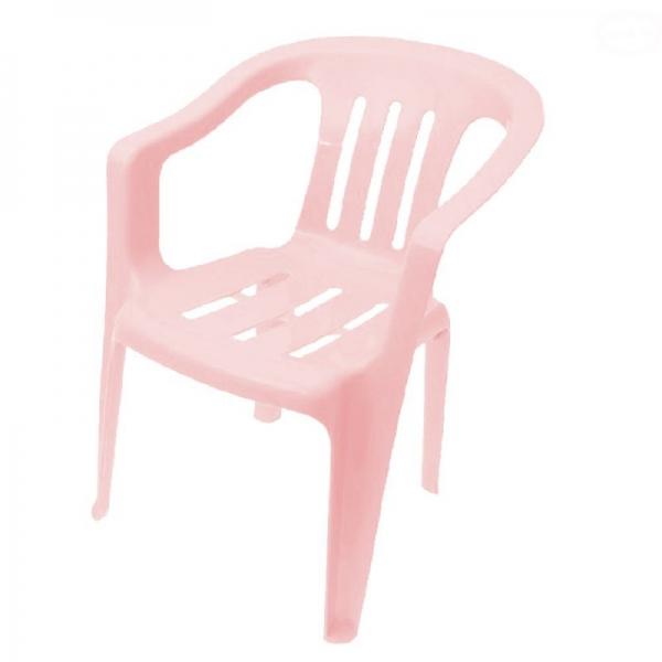 Tega dětská plastová židle - růžová