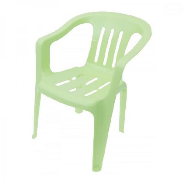 Tega dětská plastová židle - zelená