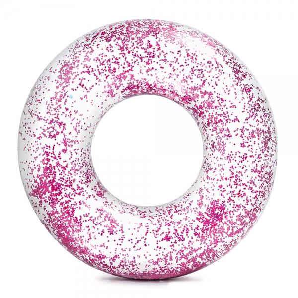 Nafukovací kruh flitrový 119 cm, 2 barvy