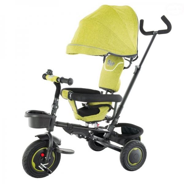 Dětská tříkolka BIKE Euro Baby s bohatou výbavou 2019 - zelená