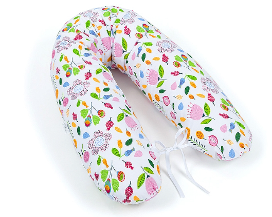 Mamo Tato Kojící polštář - relaxační poduška Multi Louka růžová