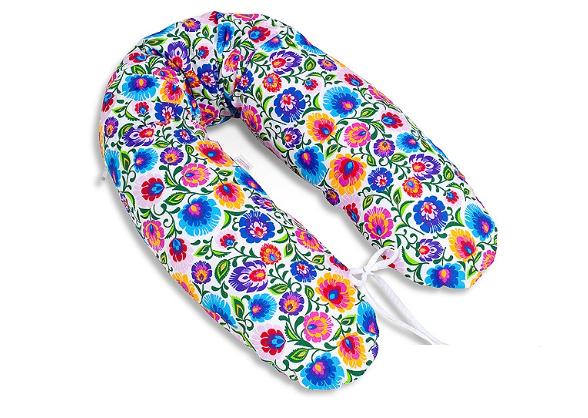 Mamo Tato Kojící polštář - relaxační poduška Multi Květinky