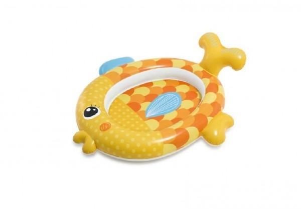 Bazén dětský ryba nafukovací 140x124x34cm vkrabici 20x23x6,5cm