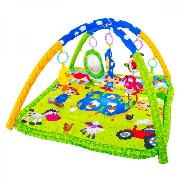 Vzdělávací hrací deka Euro Baby - Hvězdička