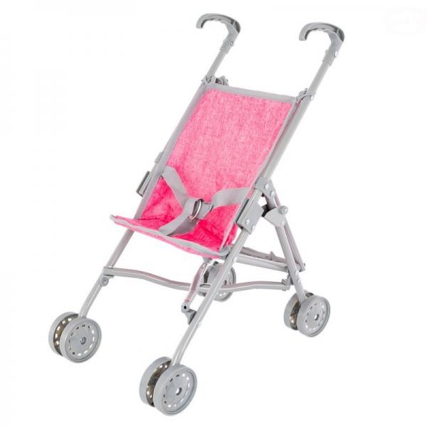 Golfový kočárek Euro Baby pro panenky - růžový