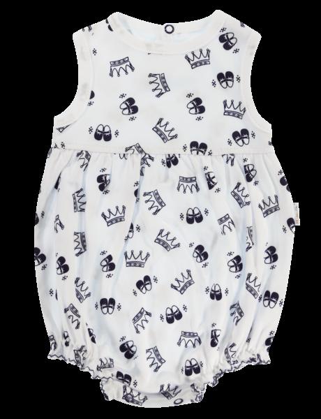 Body s nohavičkami Mamatti Princezna - krátký rukáv, Velikost: 68 (4-6m)